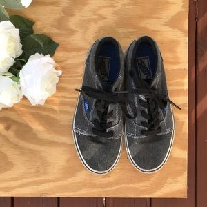 Vans | Youth Charcoal Gray Vans